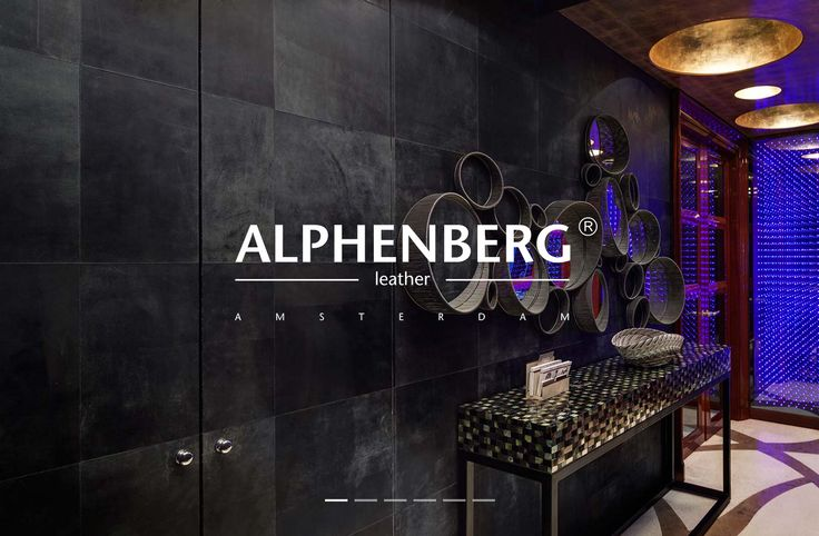 Website Alphenberg Leather