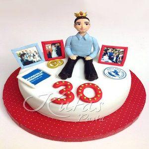 30 Yaş Baba Doğum Günü Pastası