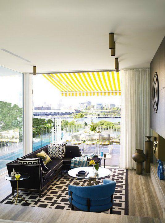 Indoor/Outdoor living room from Belle Oz