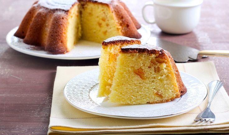 Μυρωδάτο και νόστιμο κέικ, που θα σας γλυκάνει χωρίς να σας βαρύνει. Μια ωραία ιδέα για να συνοδέψετε τον απογευματινό σας καφέ ή το τσάι.