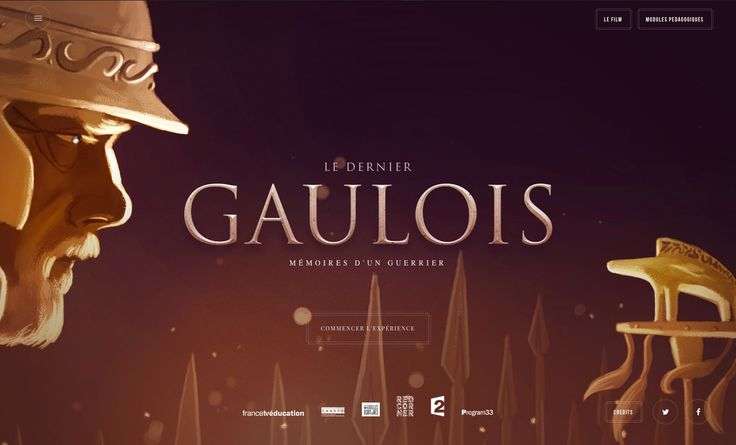Le Dernier Gaulois est une BD interactive à scroller dans laquelle le chef guerrier Apator se remémore sa vie à l'aube de la bataille d'Alésia. Une expérience en 6 épisodes à scroller où la voix du personnage principal – que l'on retrouve d'ailleurs dans un documentaire diffusé sur France 2 en décembre 2015 – guide …