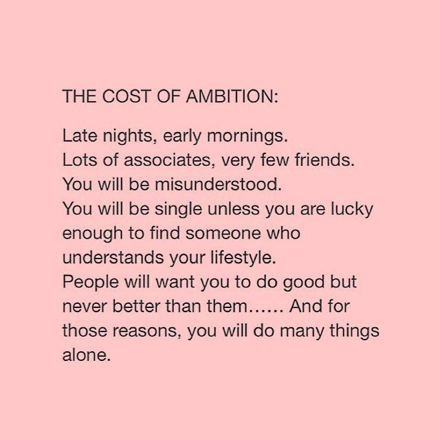 And it will all be worth it