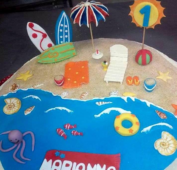 Oltre 1000 idee su torte da spiaggia su pinterest torte - Tema sulla cucina ...