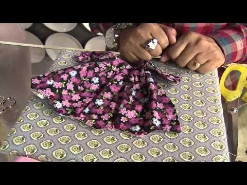 boneca com saia de tecido passo a passo risco 01 da apostila - YouTube