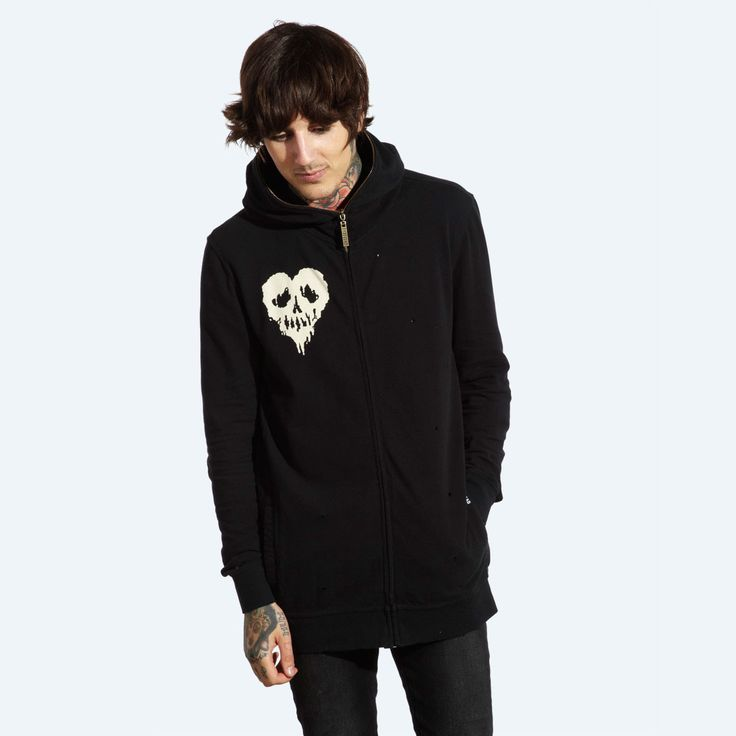 drop dead clothing standard zip up hoody. Black Bedroom Furniture Sets. Home Design Ideas