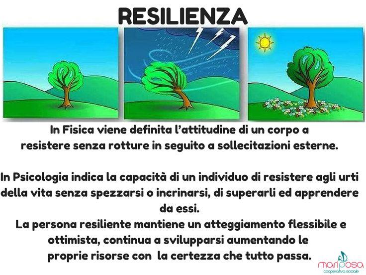 Cos'è la  #resilienza?