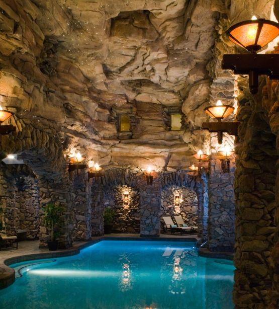 holy indoor pool! amazing.