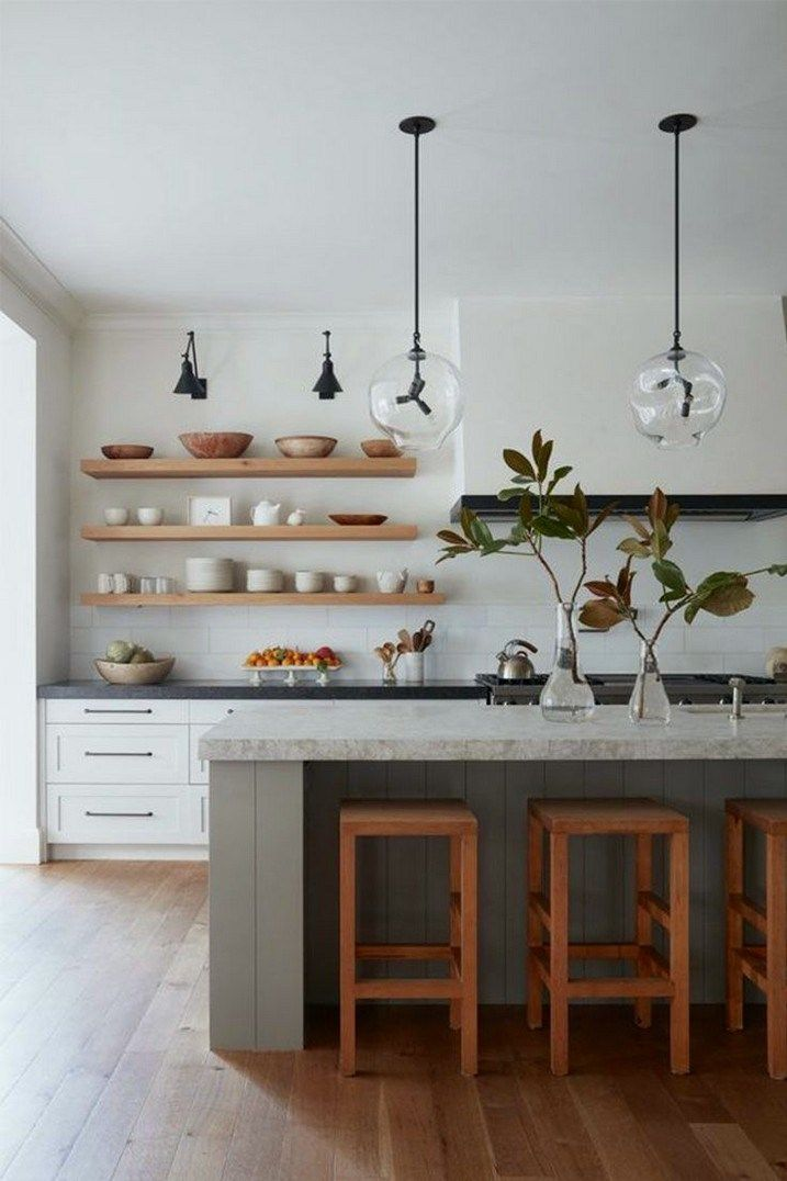 47 Inspiring Modern Scandinavian Kitchen Design Ideas 32 Home Design Scandinavian Kitchen Design Home Decor Kitchen Contemporary Kitchen