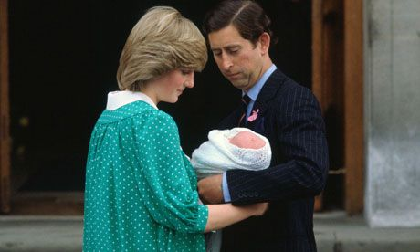 Prince Charles and Diana, Princess of Wales, with Prince Wiliam.