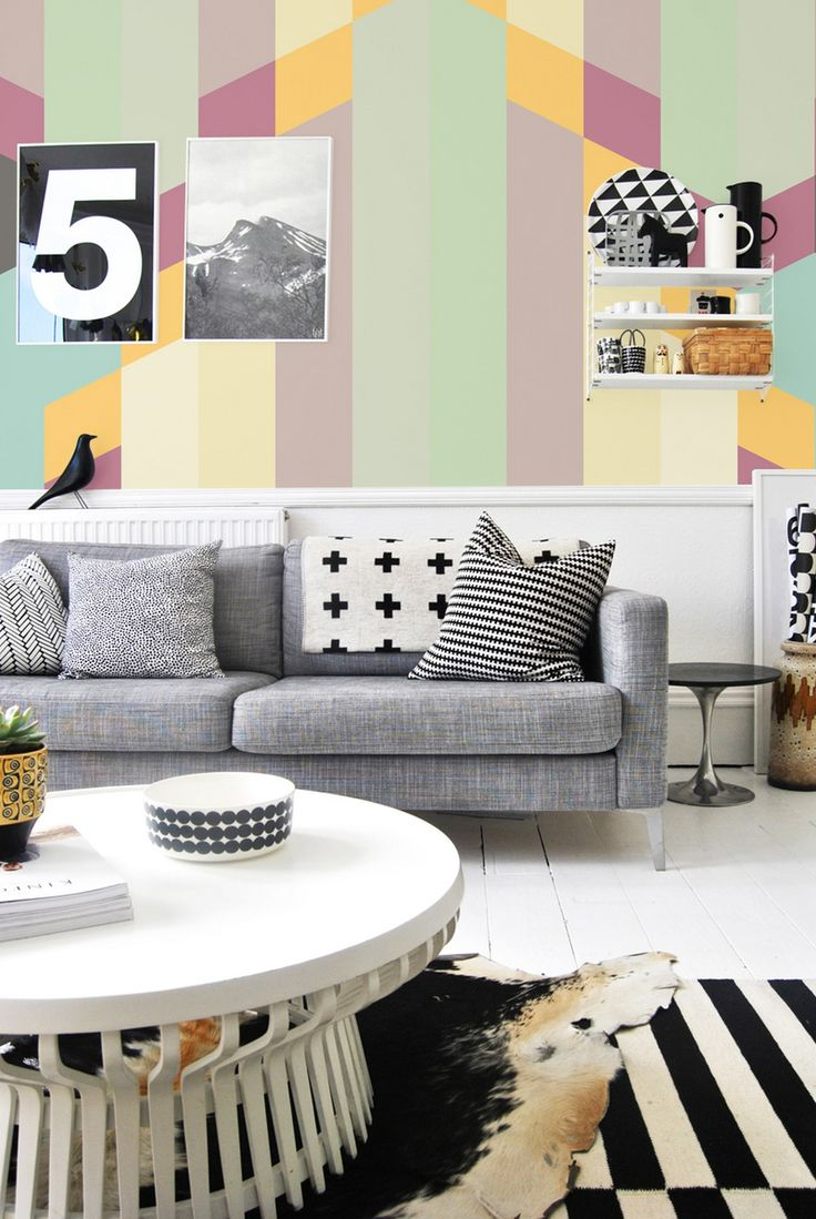 Pixers Pastel collection 8 Bring the Essence of Summer Indoors: Wall Murals in Pastel Colors by PIXERS
