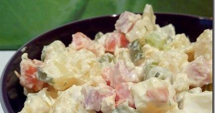 Την συνταγή αυτή την κάνει ο κουμπάρος και είναι από τις καλύτερες που έχω δοκιμάσει!!!! Υλικα 8 αυγά βρασμένα σφικτά 9 καρότα 6 πατάτ...