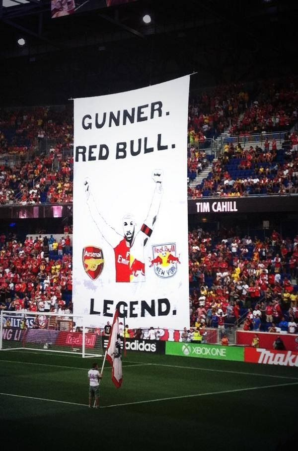 Arsenal x New York Red Bull - Thierry Henry