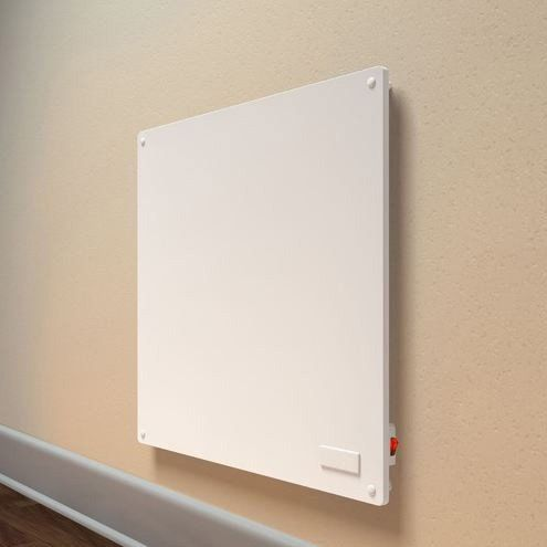Energy Efficient Wall Panel Convection Space Heater In White – Hearts Attic