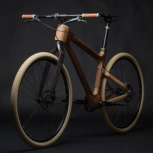 stylenochaser: Awesome design: Grainworks Analog one Wooden bicycles