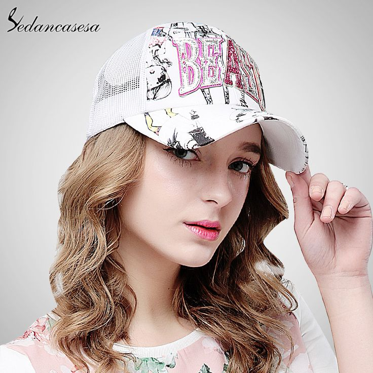 baseball cap Sun hat Korean leisure summer Trucker cap for women men Sport casquette hip-hop cool Elastic WG160056