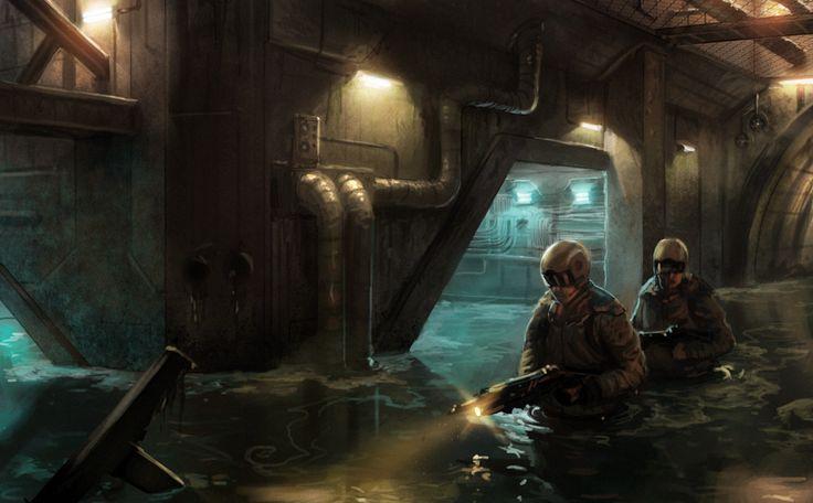 Sewers by Phade01.deviantart.com on @deviantART