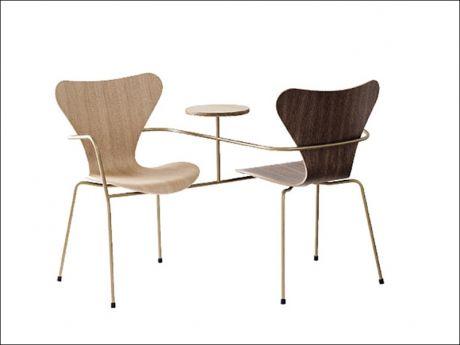 Neri & Hu (re)interpreta la sedia Serie 7 di Arne Jacobsen