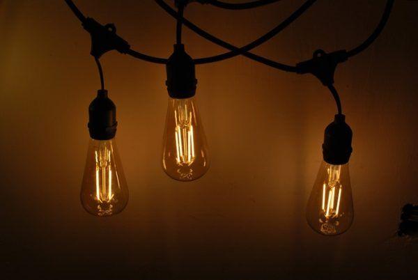 Guirnalda Luces Jardin Bombilla Decorativa Edison Bombillas Luces Guirnalda De Luces