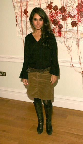 Lindsey-Vonn-skirt | Preeya Kalidas during Press Conference to Launch Pakistan Earthquake ...