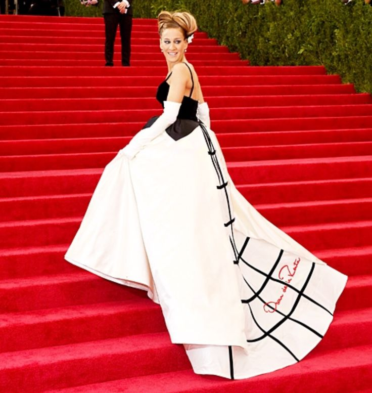 Sarah Jessica Parker at the Metropolitan Museum of Art's Costume Institute benefit gala