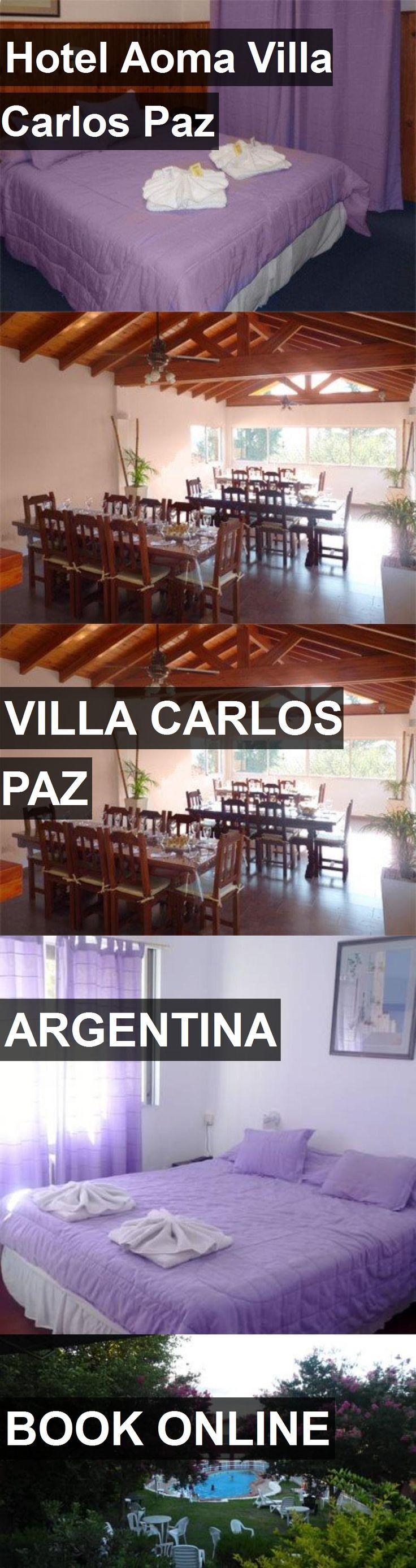 Hotel Aoma Villa Carlos Paz in Villa Carlos Paz, Argentina. For more information, photos, reviews and best prices please follow the link. #Argentina #VillaCarlosPaz #travel #vacation #hotel