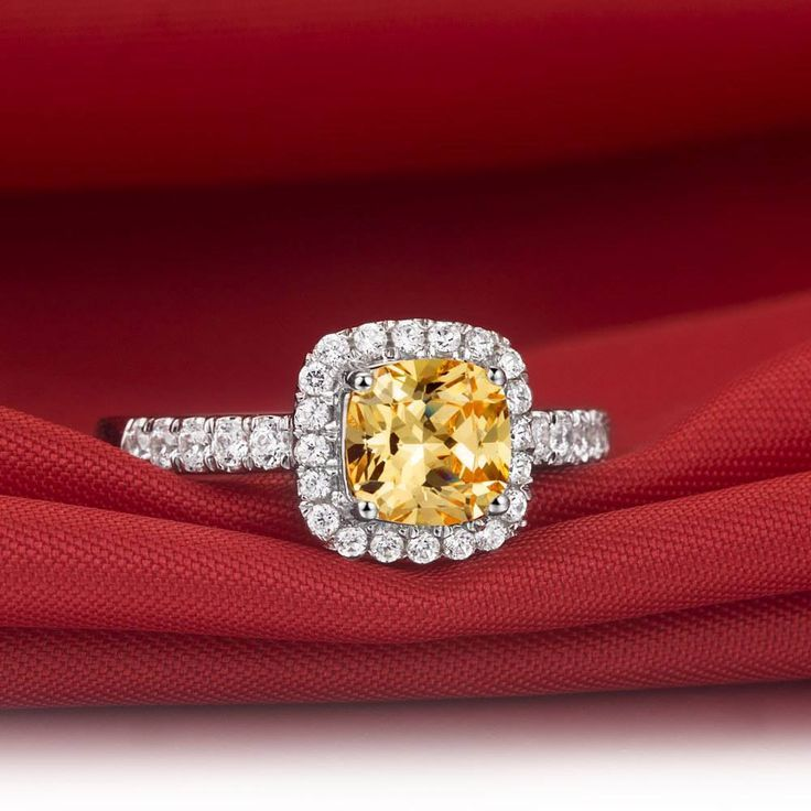 Spectacular loose Diamonds carat yellow Diamond Ring diamond jewelry