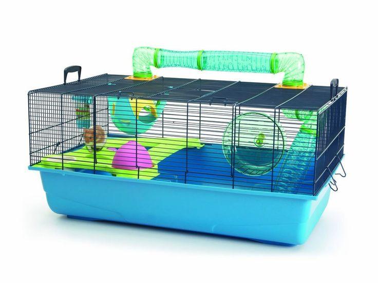 Savic Hamster Sky Navy Blue Hamster Cage 80 X 50 X 50 cm.