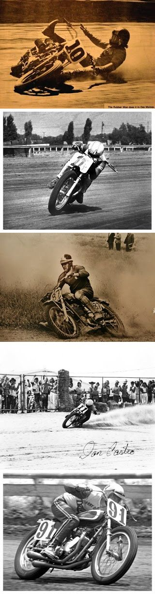 Old Flat Track Photos