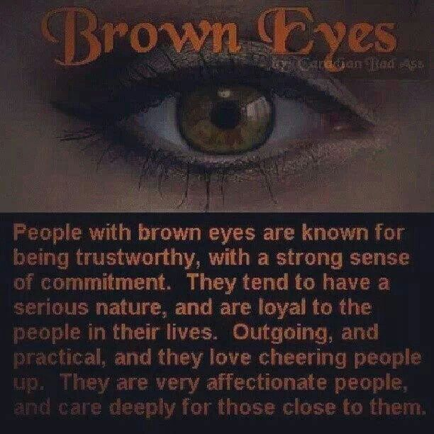 7 best Facts about brown eyes images on Pinterest