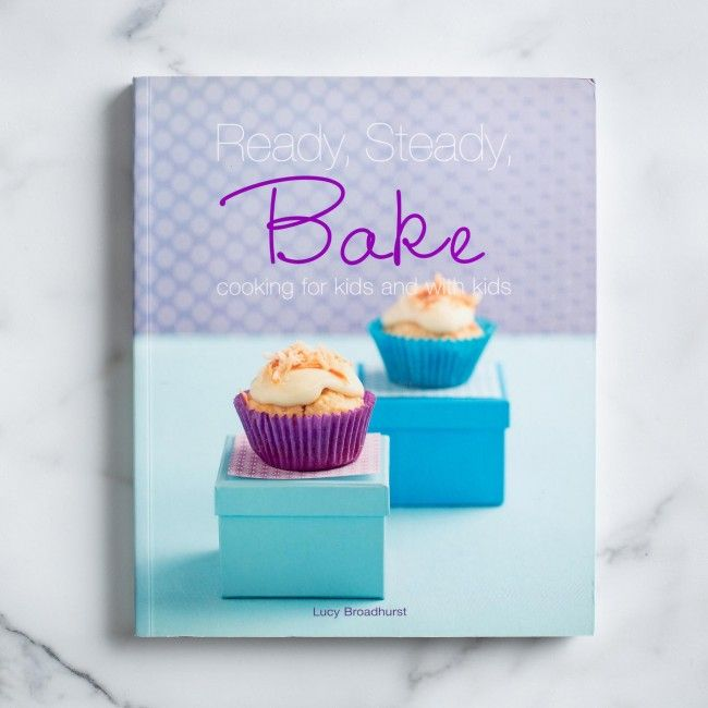 Get ready to bake the best stuff with the Ready, Steady Bake Cookbook.