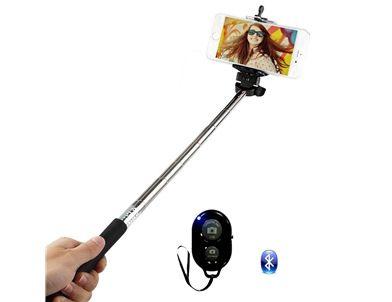Microsonic - Microsonic Bluetooth Kumandalı Selfie - Özçekim çubuğu