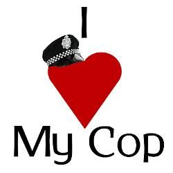 I love my cop, my everything! And he loves his cougar, his everything! Two of a kind!! <3