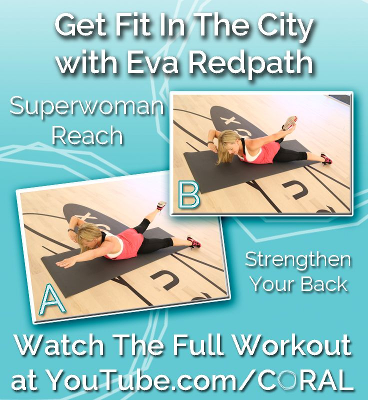 Superwoman Reach: This pose will help to strengthen your back! Watch the video tutorial ft. @Eva Redpath to learn this move along with 4 more! https://www.youtube.com/watch?v=fNuvOPgN-j4=SPvPI4L2--Kmv1_QT8qXS7ZQFhSNaZmhmr=25 #Fitness #Exercise #Health #Workout