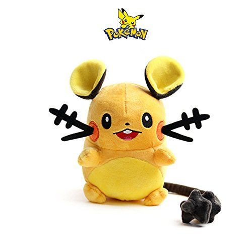 "Nintendo Pokemon 6"" Plush Doll Stuffed Animal Soft Toy : Dedenne - Pokemon Toys: Soft toys   >> Visit Pokemon store: http://www.iwantpokemon.com/product/sexystylish-harajuku-girl-autumn-coat-cartoon-pokemon-cute-pikachu-printed-hooded-pokemon-hoodies-for-women/ << >> Popular Toys - Pokemon 3D Puzzle…"