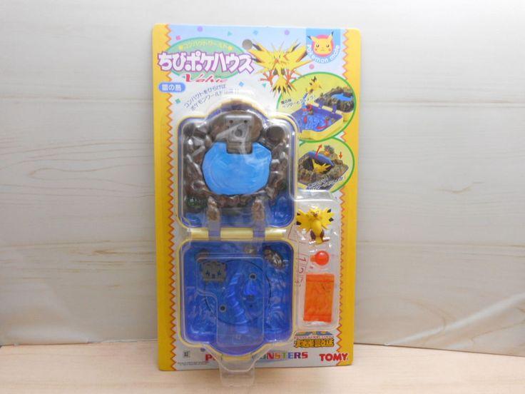 Tomy Pokemon Chibi Poke House Figure Polly Pocket Compact mate Zapdos Rare #TOMY