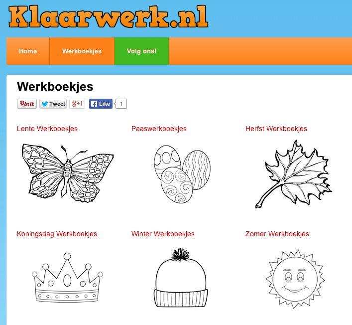 Gratis Werkboekjes - Klaarwerk.nl