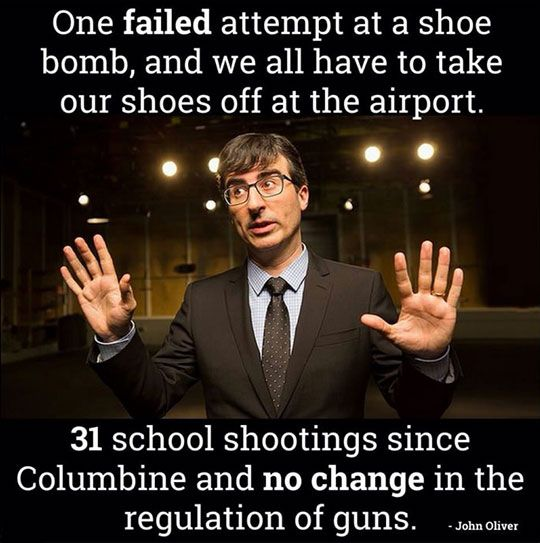 John Oliver Has A Good Point