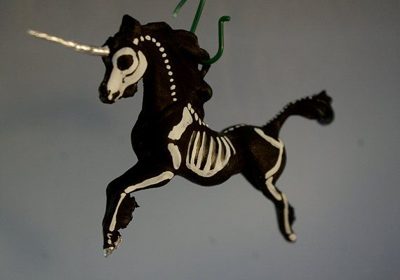 Hey, I found this really awesome Etsy listing at https://www.etsy.com/listing/214591077/painted-unicorn-christmas-ornament-horse
