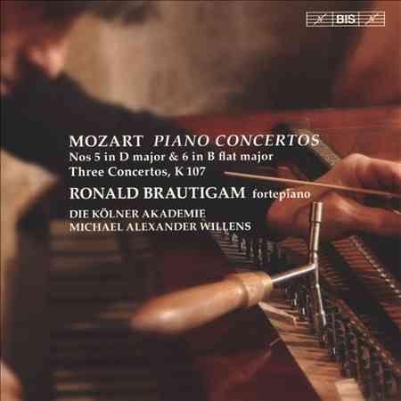 Ronald Brautigam - Mozart: Piano Concertos Nos. 5 & 6