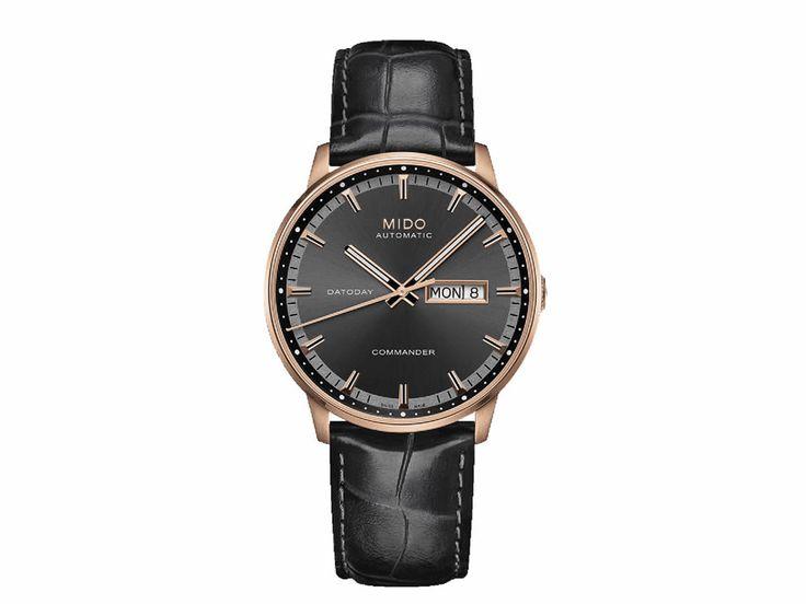 Mido Commander M0164303606102 Reloj para Caballero Color Negro