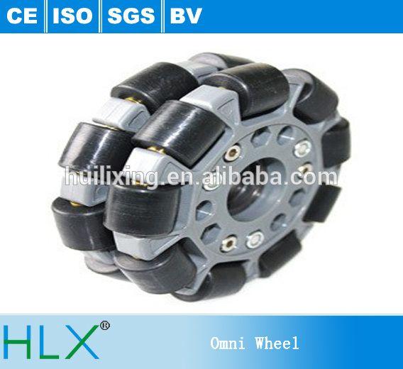Use of Omni Wheel Robots Omnidirectional Transfer Cargo Carriers Car Luggage Nylon Plastic Mini Rotacaster Omni Wheels