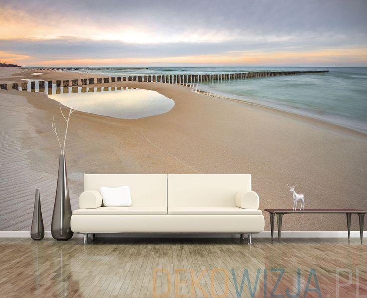 Fototapeta do salonu z motywem plaży