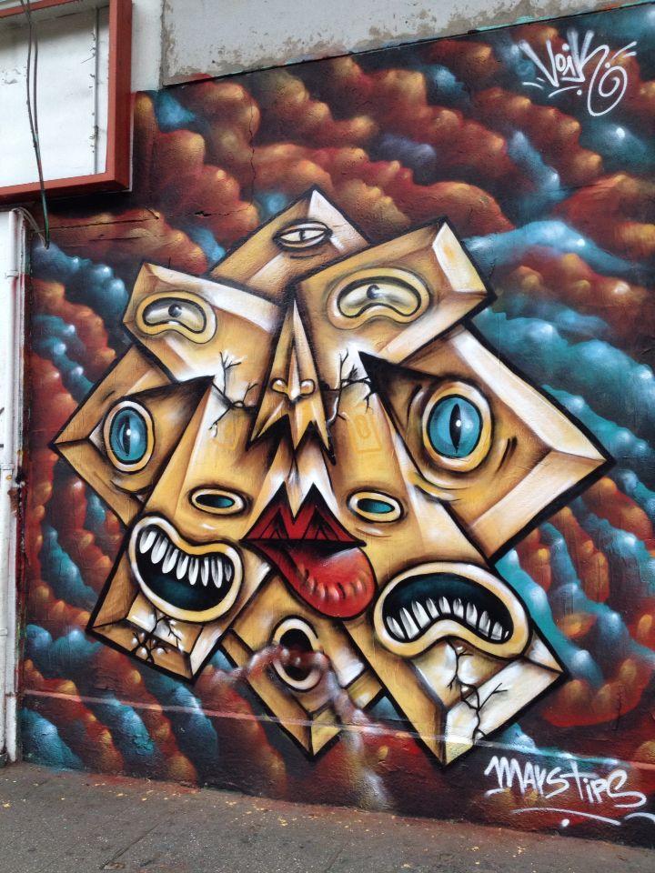 Graffiti Av Vicuña Mackenna 171.