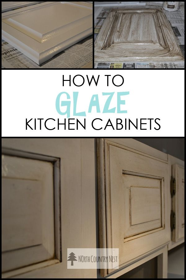 How to Glaze Kitchen CabinetsThis step-by-step guide gives you the best tips for giving your kitchen cabinets that perfect antique look.