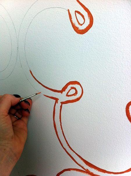 Трафареты для стен своими руками: 4 мастер-класса с пошаговыми фотографиями