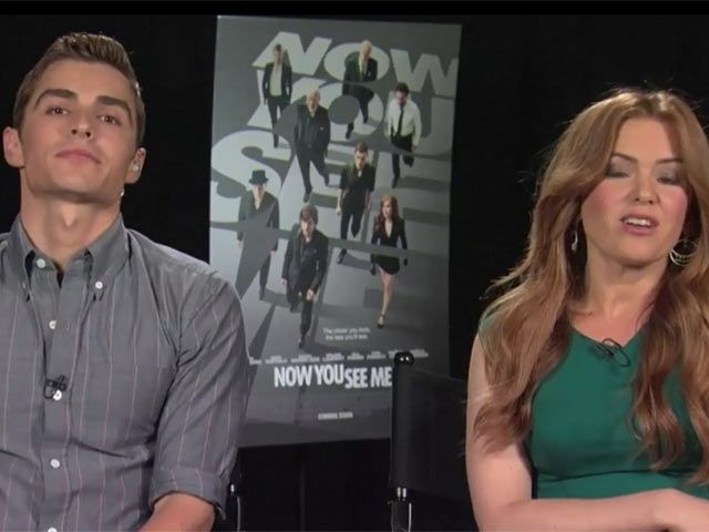 Dave Franco & Isla Fisher Talk Now You See Me