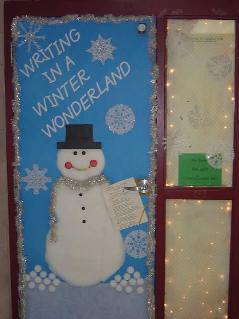 Classroom Door Decor For Winter ~ Winter classroom door decorations recent photos the