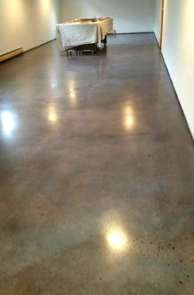 "Some wonderful words from a recent customer about her new polished basement: ""I just wanted to let you know that we LOVE our floors, they turned out just perfect. We are very pleased and will recommend you guys in the future."" #ConcreteVisions #Aurora #polishedconcrete #remodel"