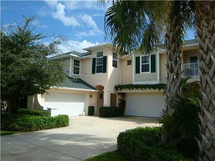 Beautiful key west syle townhome in lush tropical setting. Home features first floor master bedroom. granite kitchen counters 42' cabinets, energy efficient construction, Mandatory tennis club membership includes club house, sports bar, fitness center, large pool and golf priviledges. Pets welcome. Room sizes approx and subject to error.
