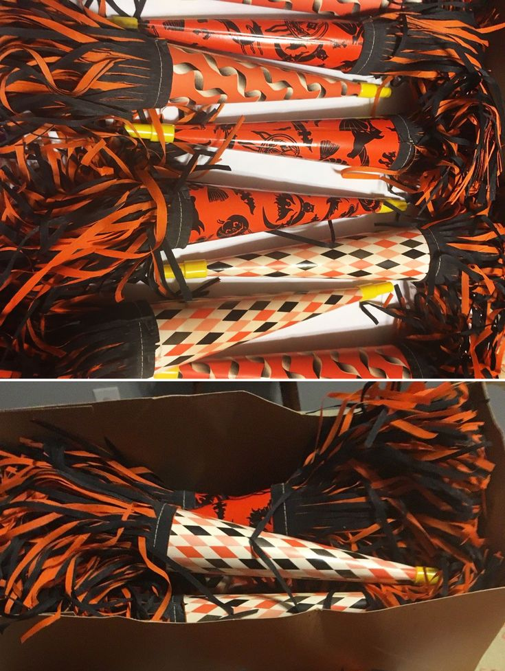 25 New Condition Noisemakers ($123 @ ~$5 each). #vintage #Halloween #collectibles